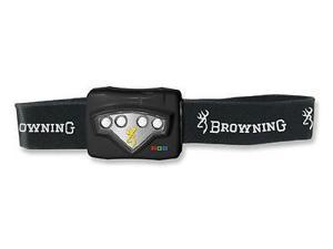 "Browning BR3325 Headlamp Rgb Headlamp 2 1/4"" X 1 1/2 Red Green & Blue Leds Giv"