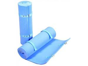 """Stansport Deluxe Packlite 5/8"""" Thick Portable Camping Sleeping Pad Blue 504-B"""
