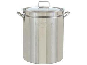 Bayou Classic 82 Quart Stainless Steel Stockpot with Lid