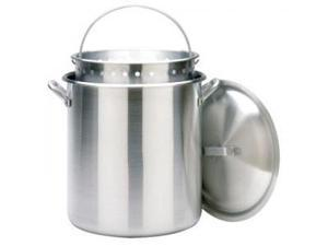 Bayou Classic 160 Quart Stockpot with Lid and Basket