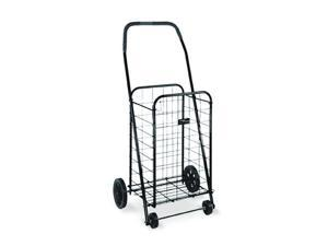 Folding Shopping Cart In Black