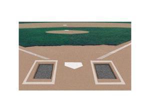 Markers Inc MK3240 Rubber Batters Box Foundation-PR Baseball-Softball Field Equipment