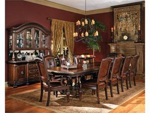 """Antoinette Double Pedestal Dining Table with 24"""" Leaf"""