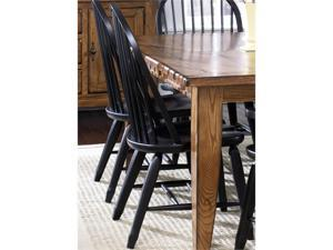 Treasures Bow Back Side Chair - Black