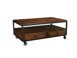 Baja Rectangular Storage Cocktail Table