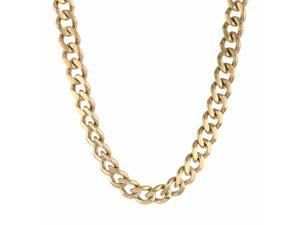 Metro Jewelry Stainless Steel Chunky Necklace