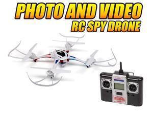 Enforcer 2.4GHz 4.5CH Camera RC Spy Drone