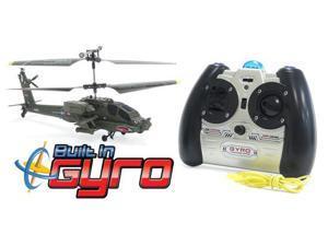 GYRO Syma S109G AH-64 3.5CH Electric RTF RC Helicopter