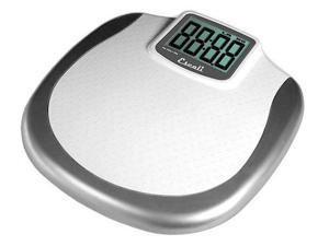 Escali Glass Body Fat/Body Water Bathroom Scale, 440 Lb/200 Kg - BFBW200