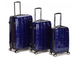 Three Piece Polycarbonate-ABS Luggage Set - by Fox Luggage