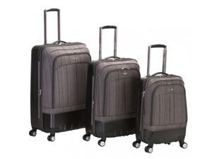 Three Piece Hybrid EVA-ABS Luggage Set by Fox Luggage - by Fox Luggage