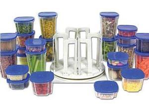 Swirl A Round Organizer & Containers - by Jobar