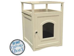 Cat Washroom - Side Table Pet House - by Merry Products