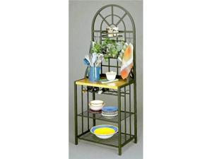 Dome Bakers Rack - Black - by Southern Enterprises