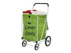Deluxe Hooded Cart Liner - Green - by Narita Trading