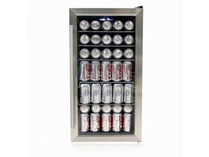 Beverage Refrigerator - Stainless Steel - by Whynter