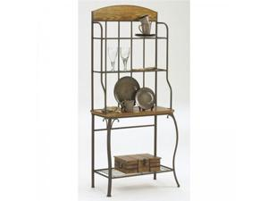 Lakeview Baker's Rack with Wood Top - by Hillsdale