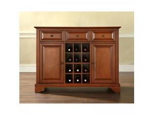 LaFayette Buffet Server/Sideboard Cabinet with Wine Storage by Modern Marketing - by Crosley