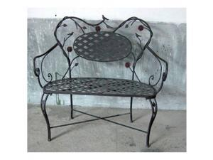 Bird and Flower Bench - by 4D Concepts