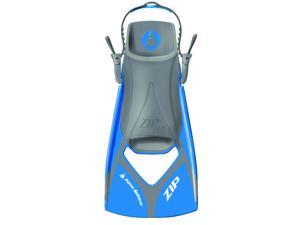 Aqua Sphere Zip VX Fin - Blue/Grey - Size Medium
