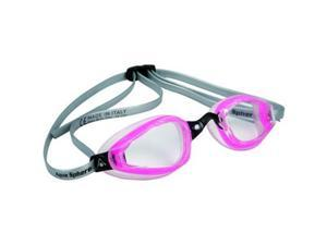 Aqua Sphere K180+ Ladies Clear Lens Swim Goggle - Pink & Transparent