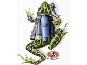Amphibious Outfitters Scuba Frog White T-Shirt - XXL