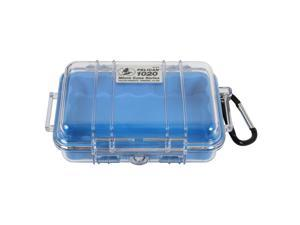 Pelican 1020 Micro Dry Case with Clear Lid  - Blue