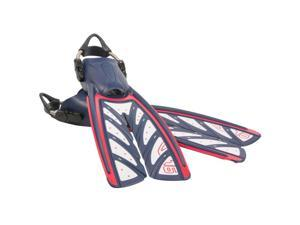 Oceanic Vortex V-16 Fin - Warrior Edition - Small for Scuba Diving or Snorkeling