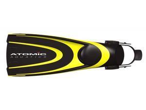 Atomic Aquatics Blade Scuba Diving and Snorkeling Fins - Yellow - Large
