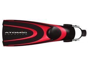 Atomic Aquatics Blade Scuba Diving and Snorkeling Fins - Red - X-Large