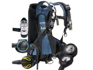 Oceanic Traveler Scuba Diving Package - Size Medium
