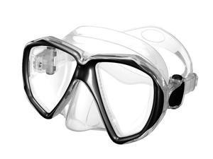 Typhoon Ultra View Scuba Diving Mask - Black