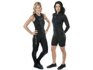 Henderson Womens 7mm Thermoprene 2-Piece Scuba Diving Wetsuit Size 4