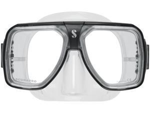 ScubaPro Solara Scuba Mask - Black - Clear Skirt