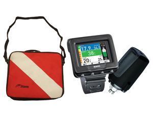 Mares Icon HD Wrist Computer with Typhoon Padded Regulator Bag