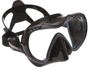 Aqua Lung Mission MIDI Mask Silicone - Black/Black
