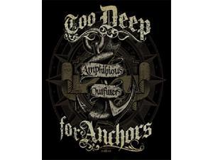 Amphibious Outfitters T-Shirt - Too Deep - Black