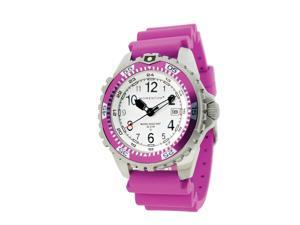 Momentum Twist Dive Watch Magenta/Magenta Rubber Band