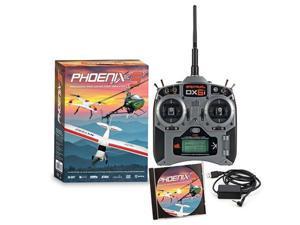 Phoenix R/C Pro Flight Simulator / Sim V5.0 w/ Spektrum DX6i Radio / Transmitter