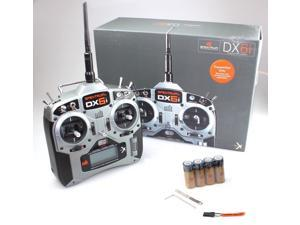 Spektrum SPMR6630 DX6i DSMX 6-Channel Transmitter Radio Mode 2