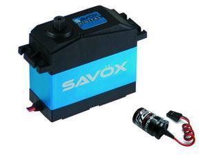 Savox SW0241MG WATERPROOF 1/5 5TH SCALE DIGITAL SERVO W/ GLITCH BUSTER