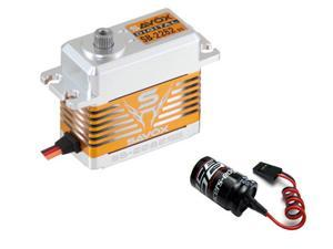 Savox SB2282SG HIGH VOLTAGE BRUSHLESS DIGITAL SERVO W/ GLITCH BUSTER