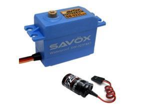 Savox SW-0231MG Waterproof High Torque STD Metal Gear Digital Servo + Glitch Buster