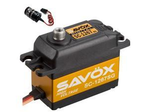 Savox SC-1267SG Super Speed Steel Gear Digital Servo + Glitch Buster
