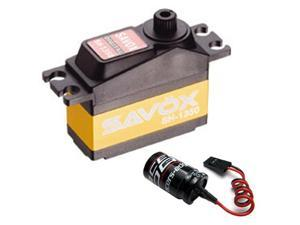 Savox SH-1350 Super Torque Mini Digital Servo + Glitch Buster