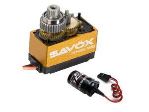 Savox SH-0261MG Super Torque Metal Gear Micro Digital Servo + Glitch Buster