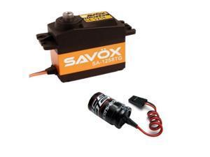 Savox SC-1258TG Super Speed Titanium Gear Digital Servo + Glitch Buster