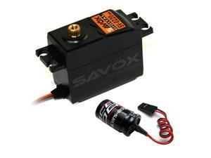 Savox SV-0220MG Standard High Voltage Servo + Glitch Buster