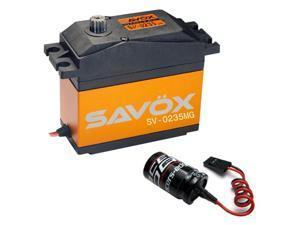 Savox SV-0235mg High Voltage 5th Scale Digital Servo  + Glitch Buster
