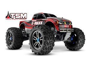 Traxxas 39086-4 1/10 E-Maxx Brushless Monster Truck TSM w/Self Righting RTR